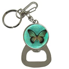 Butterfly Background Vintage Old Grunge Button Necklaces