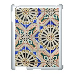 Ceramic Portugal Tiles Wall Apple Ipad 3/4 Case (white) by Amaryn4rt