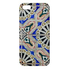 Ceramic Portugal Tiles Wall Iphone 5s/ Se Premium Hardshell Case by Amaryn4rt