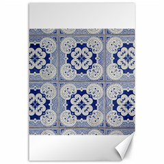 Ceramic Portugal Tiles Wall Canvas 24  X 36