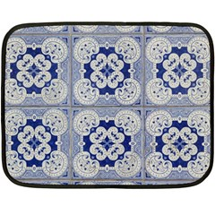 Ceramic Portugal Tiles Wall Fleece Blanket (mini)