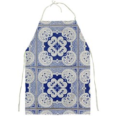 Ceramic Portugal Tiles Wall Full Print Aprons by Amaryn4rt