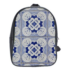 Ceramic Portugal Tiles Wall School Bags (xl)