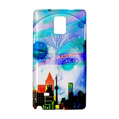 Dirty Dirt Spot Man Doll View Samsung Galaxy Note 4 Hardshell Case by Amaryn4rt