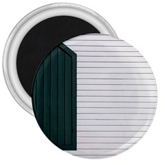 Construction Design Door Exterior 3  Magnets by Amaryn4rt