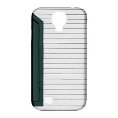 Construction Design Door Exterior Samsung Galaxy S4 Classic Hardshell Case (pc+silicone) by Amaryn4rt