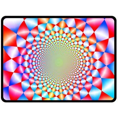 Color Abstract Background Textures Double Sided Fleece Blanket (large)