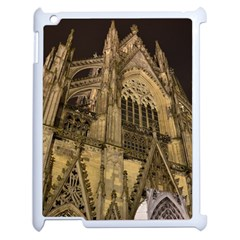 Cologne Church Evening Showplace Apple Ipad 2 Case (white) by Amaryn4rt