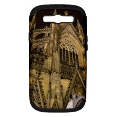 Cologne Church Evening Showplace Samsung Galaxy S Iii Hardshell Case (pc+silicone)