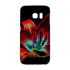 Flower Pattern Design Abstract Background Galaxy S6 Edge by Amaryn4rt