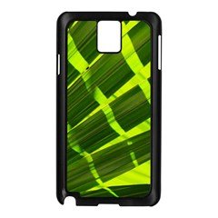 Frond Leaves Tropical Nature Plant Samsung Galaxy Note 3 N9005 Case (black)