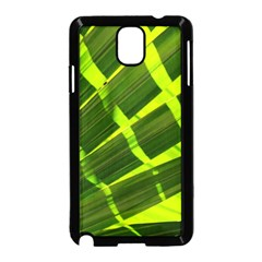 Frond Leaves Tropical Nature Plant Samsung Galaxy Note 3 Neo Hardshell Case (black) by Amaryn4rt