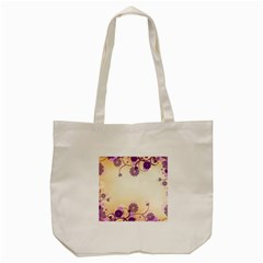 Floral Background Tote Bag (cream)