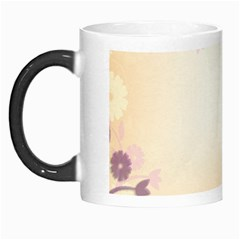 Floral Background Morph Mugs by Amaryn4rt