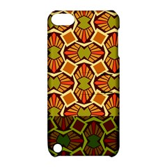 Geometry Shape Retro Trendy Symbol Apple Ipod Touch 5 Hardshell Case With Stand by Amaryn4rt