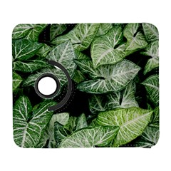 Green Leaves Nature Pattern Plant Galaxy S3 (flip/folio) by Amaryn4rt