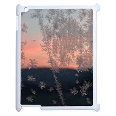 Hardest Frost Winter Cold Frozen Apple Ipad 2 Case (white) by Amaryn4rt