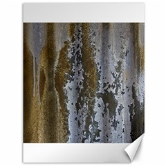 Grunge Rust Old Wall Metal Texture Canvas 36  X 48   by Amaryn4rt