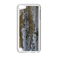 Grunge Rust Old Wall Metal Texture Apple Ipod Touch 5 Case (white) by Amaryn4rt
