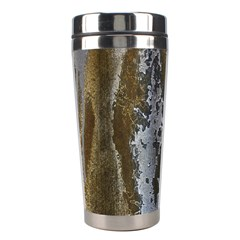 Grunge Rust Old Wall Metal Texture Stainless Steel Travel Tumblers by Amaryn4rt