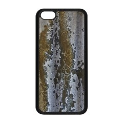 Grunge Rust Old Wall Metal Texture Apple Iphone 5c Seamless Case (black) by Amaryn4rt