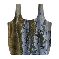 Grunge Rust Old Wall Metal Texture Full Print Recycle Bags (l)  by Amaryn4rt