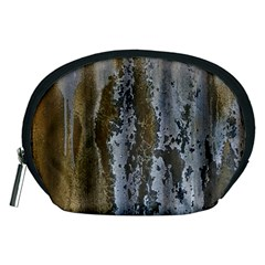 Grunge Rust Old Wall Metal Texture Accessory Pouches (medium)  by Amaryn4rt