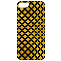 Circles3 Black Marble & Yellow Marble (r) Apple Iphone 5 Classic Hardshell Case by trendistuff
