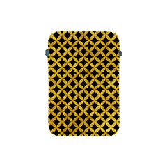 Circles3 Black Marble & Yellow Marble Apple Ipad Mini Protective Soft Case by trendistuff