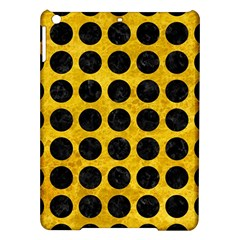 Circles1 Black Marble & Yellow Marble (r) Apple Ipad Air Hardshell Case by trendistuff