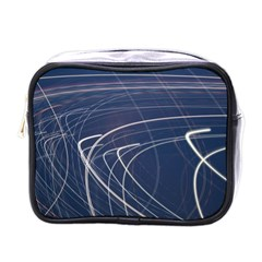 Light Movement Pattern Abstract Mini Toiletries Bags by Amaryn4rt