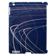 Light Movement Pattern Abstract Apple Ipad 3/4 Hardshell Case (compatible With Smart Cover)