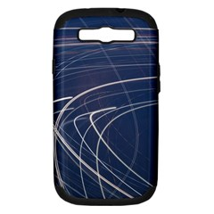 Light Movement Pattern Abstract Samsung Galaxy S Iii Hardshell Case (pc+silicone)