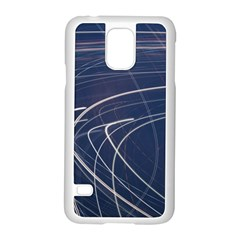 Light Movement Pattern Abstract Samsung Galaxy S5 Case (white) by Amaryn4rt
