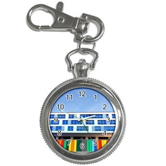 Office Building Key Chain Watches