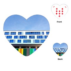 Office Building Playing Cards (heart)  by Amaryn4rt