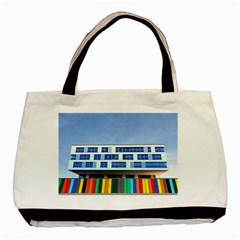 Office Building Basic Tote Bag (two Sides)