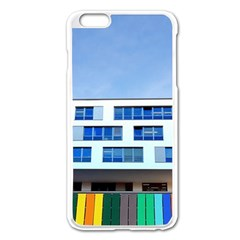Office Building Apple Iphone 6 Plus/6s Plus Enamel White Case by Amaryn4rt