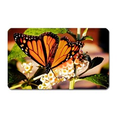 Monarch Butterfly Nature Orange Magnet (rectangular)