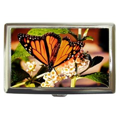 Monarch Butterfly Nature Orange Cigarette Money Cases by Amaryn4rt