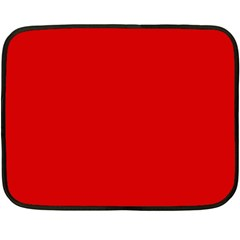 Just Red Double Sided Fleece Blanket (mini)