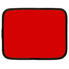 Just Red Netbook Case (xl)