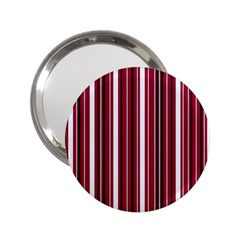 Red Lines 2 25  Handbag Mirrors by Valentinaart