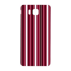 Red Lines Samsung Galaxy Alpha Hardshell Back Case