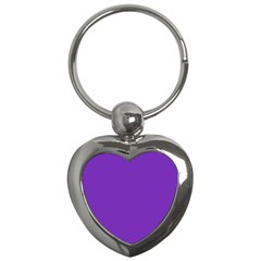 Purple Key Chains (heart)  by Valentinaart
