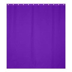 Purple Shower Curtain 66  X 72  (large)  by Valentinaart