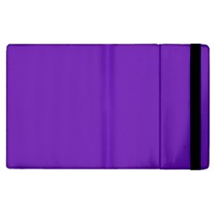 Purple Apple Ipad 2 Flip Case by Valentinaart