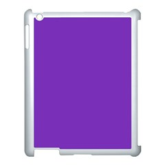 Purple Apple Ipad 3/4 Case (white) by Valentinaart