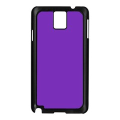 Purple Samsung Galaxy Note 3 N9005 Case (black) by Valentinaart