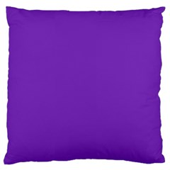 Purple Large Flano Cushion Case (one Side) by Valentinaart